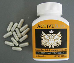 ActiveSlim packing front and capsules