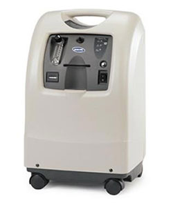 image of an Invacare PerfectO2 concentrator