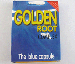 Golden Root complex capsules - packaging