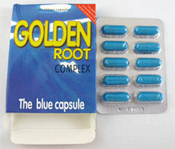 Golden Root complex capsules - packaging and packet