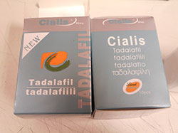 Lieel Icos Cialis tadalafil: image of grey box packaging