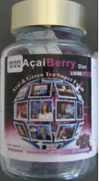 Acai Berry bottle
