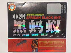 image of the African Black Ant packaging