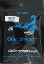 Blue Stinger packaging