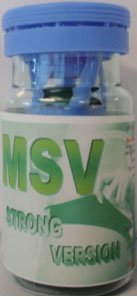 MSV strong version bottle