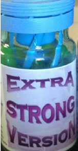 ESV Extra Strong Version bottle