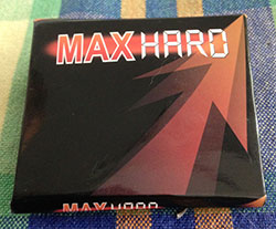 Max Hard capsules packaging