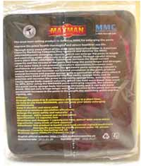 Maxman III capsules - back of packaging