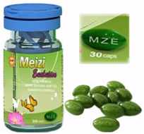 Meizi capsules and packaging