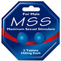 MSS Maximum Sexual Stimulant tablets | Therapeutic Goods