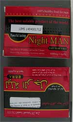 image of the Night Man packaging