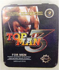 image of the Top Man 3 packaging