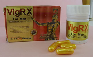 VigRX for Men packaging and capsules