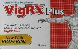 Counterfeit packaging of VigRX Plus