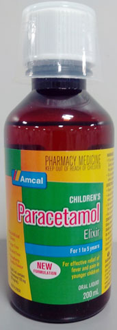 Amcal Children's Paracetamol Elixir for 1 to 5 years