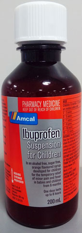 Amcal Ibuprofen Suspension for Children