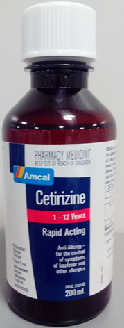 Amcal Cetirizine 1 - 12 years