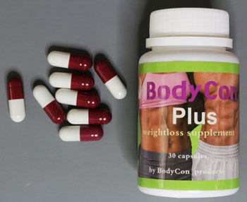 photo of 7-day Slim Extreme capsules and package