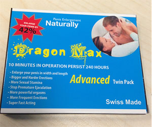 Packaging for Dragon Max capsules