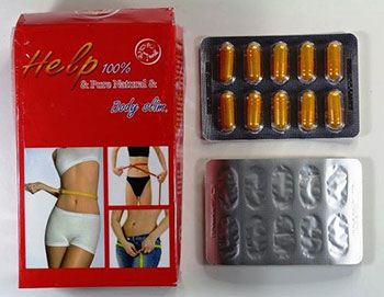 Help 100% & Pure Natural & Body Slim capsules