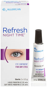 Refresh Night Time 2 x 3.5 g ointment