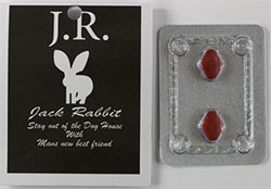 Image showing packaging and tablets for Jack Rabbit