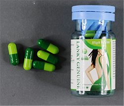Photo of Lanky Genuine capsules and packaging