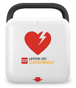 Image of the LIFEPAK CR2 AED Defibrillator