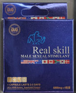 Real Skill Male Sexual Stimulant packaging