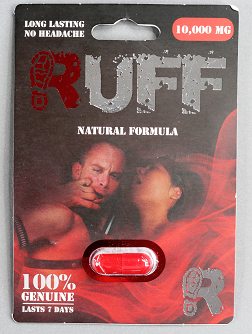 packet for RUFF Natural Formula capsules