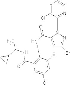 Figure 14: Chemical structure of cyclaniliprole