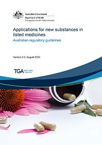 Download Applications for new substances in listed medicines