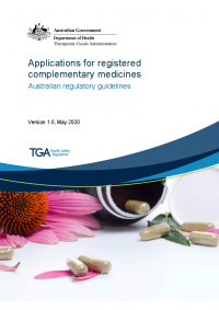 Download Applications for registered complementary medicines