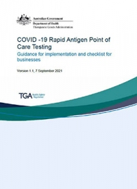 Download COVID-19 Rapid Antigen Tests - Guidance and checklist for businesses