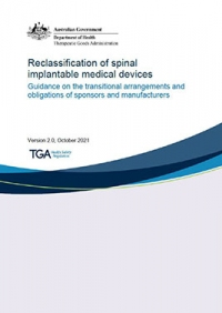 Download Reclassification of spinal implantable medical devices