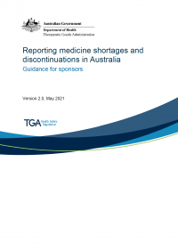 Download Reporting medicine shortages and discontinuations in Australia - Guidance for sponsors