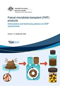 Download Faecal microbiota transplant (FMT) products: Interpretative and technical guidance on GMP requirements