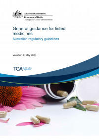 Download General guidance for listed medicines