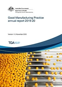 Download Good Manufacturing Practice annual report 2019-20