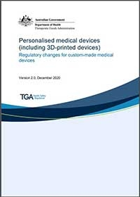 Download Personalised medical devices (including 3D-printed devices)