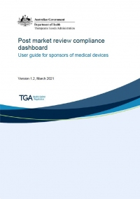 Download Post market review compliance dashboard