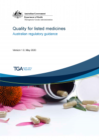 Download Quality for listed medicines