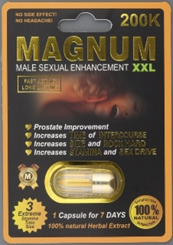 Picture of Magnum XXL Capsules packaging