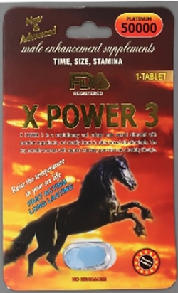 Picture of X Power 3 Tablets packaging