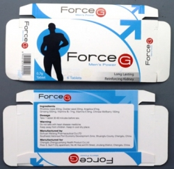 Force G Men's packaging