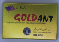 Gold Ant packaging