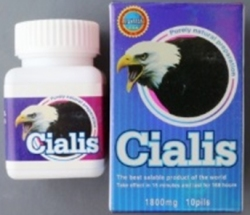 Maxman Cialis tablets (Plastic bottle inside cardboard carton)