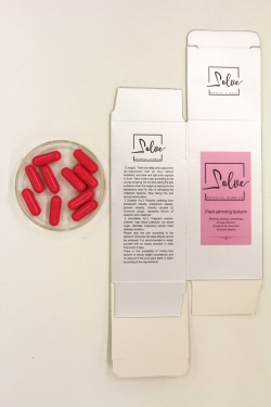 Packaging and capsules for Solve Botanical Slimming Capsules
