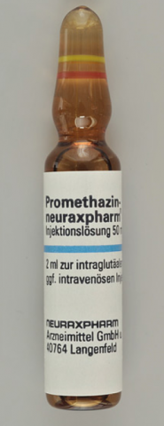 Picture of  Promethazin Neuraxpharm 50mg/2mL - ampoule