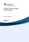COVID-19 vaccine safety monitoring plan